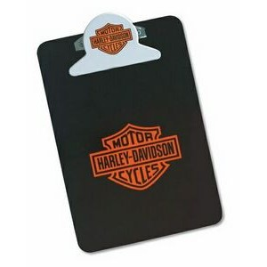 Oval or Round Letter Size Clipboard w/ Stock Shaped Clip