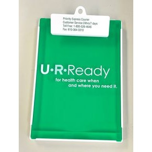 Letter Size Clipboard w/ Storage Box & Rectangle Plastic Clip