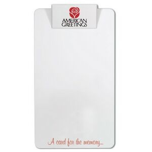 Legal Size Clipboard w/Square Clip