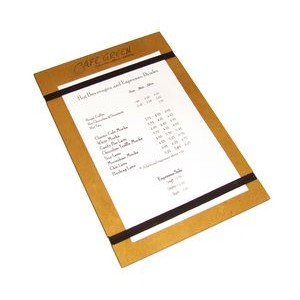 Wood Menu Holder