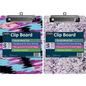 Fashion Clipboard - Assorted Prints (Case of 24)