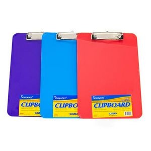 Plastic Clipboard - 12.5 x 9 (Case of 48)