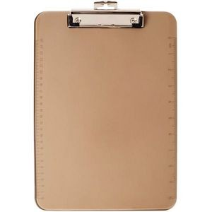 Low Profile Plastic Clipboard-Smoke