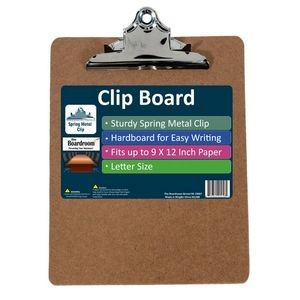 Creative Colors Spring Clip Clipboard (Case of 24)