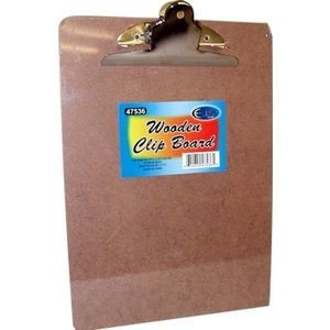 Bulk Hard board Clip Board - 12.5 x 9 - Large Clip (Case of 24)