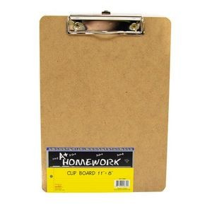 Hardboard Clipboard - 8 x 11 - Metal Clip (Case of 48)