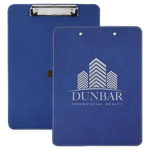 Laserable Leatherette Clipboard