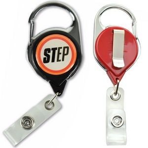 Carabiner Badge Reel - No Twist